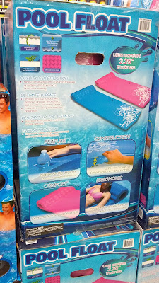 Relax on the soft yet supportive Sport Dimension Pool Float