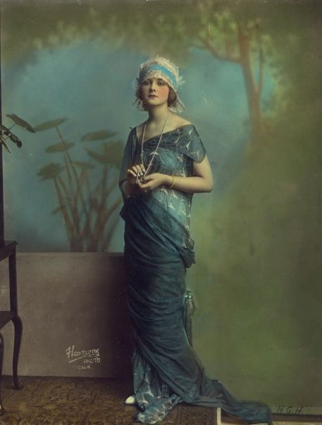Alice Terry #vintage #blue #dress