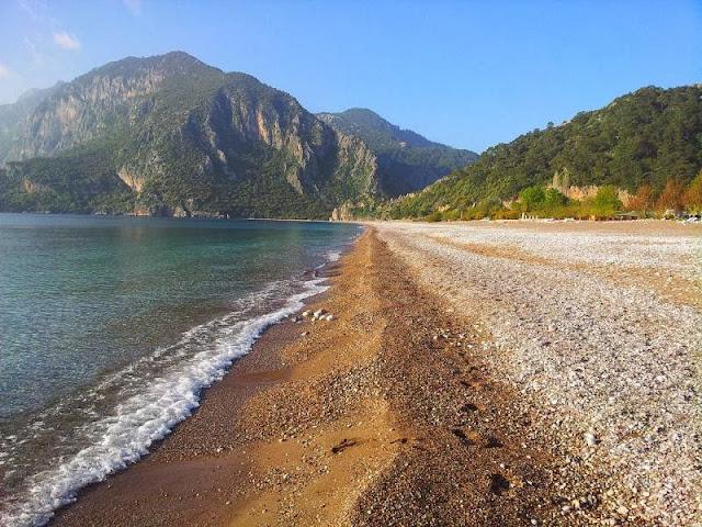 تعرف علي شاطئ سيرالي في أنطاليا