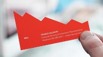 unique business card