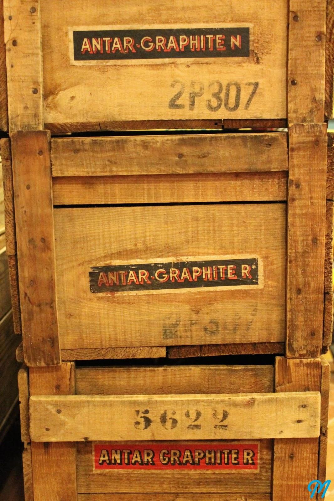 Arrivage de caisses en bois publicitaires marinette - Ou acheter des caisses en bois ...