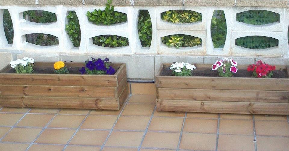 Jardineras de madera decora tu terraza - Decora tu terraza ...
