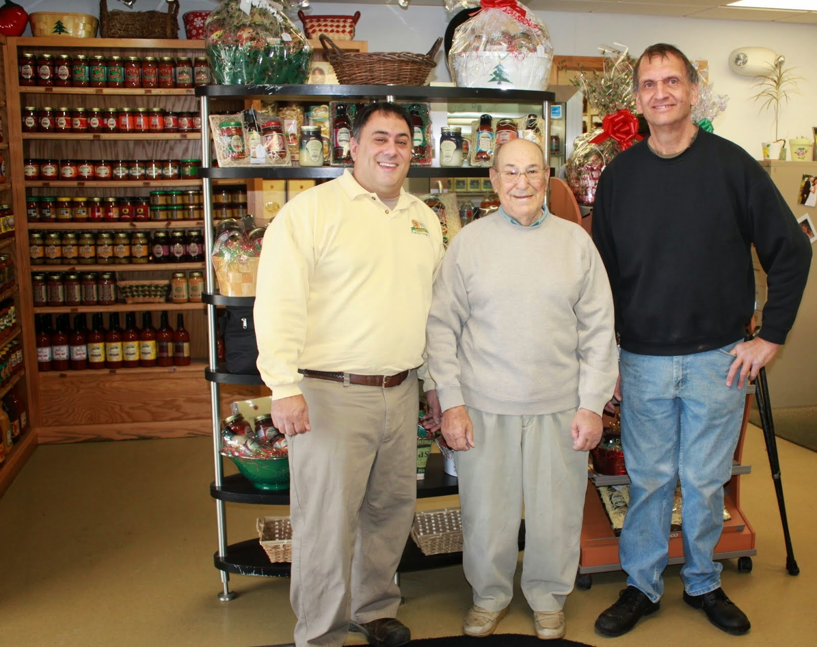 Our owners:  Nickki Stello, Jim Stello, and David Daughenbaugh
