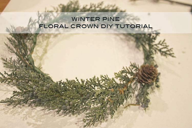 do it yourself floral crown