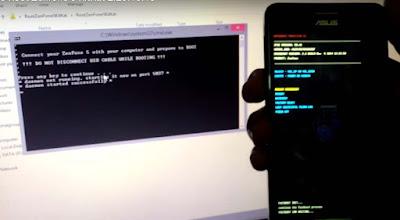 Cara Root Asus Zenfone 5 Kitkat Firmware v.2.20.40.13