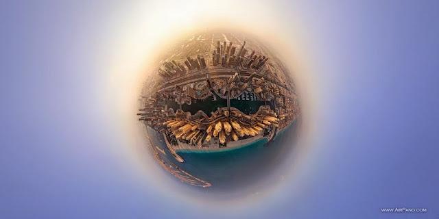 AirPano Planets, fotografías panorámicas 360º, Dubai