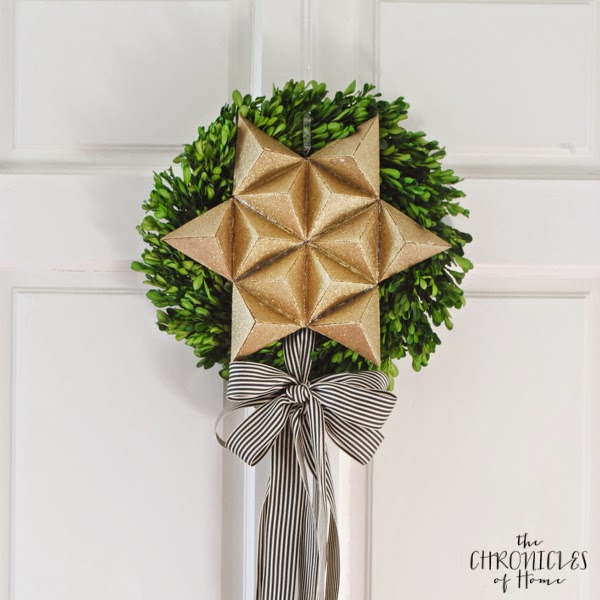 How to make a 3D Christmas Star by The Chronicles of Home