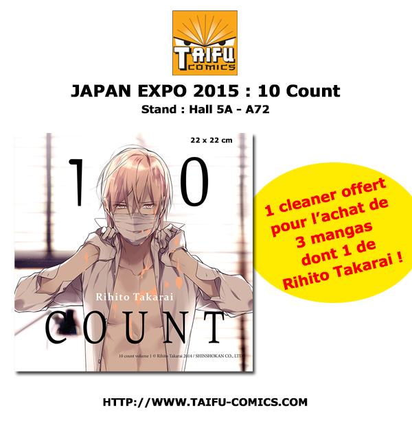Actu Manga, Japan Expo, Japan Expo 2015, Manga, Taifu,
