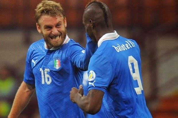 Skuad Timnas Italia di Piala Dunia Brazil 2014