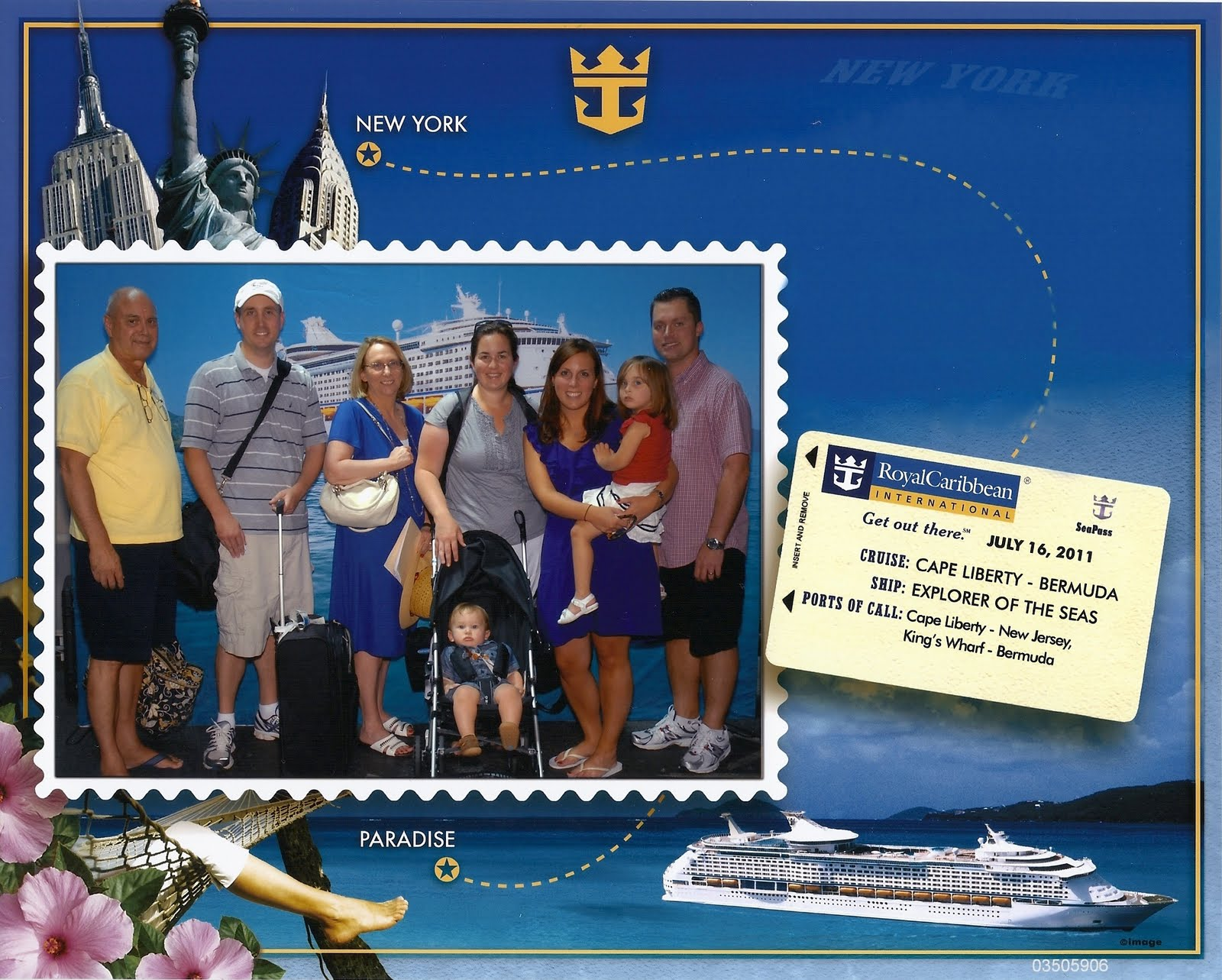 the adventure starts here freel family cruise to bermuda