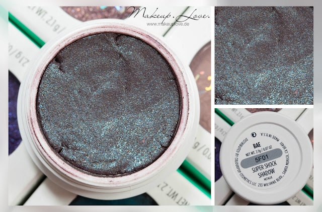 Colourpop Super shock shadow bae swatch