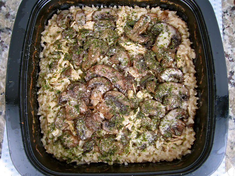 marsala and rice chicken with mushrooms rice and a marsala cream sauce ...