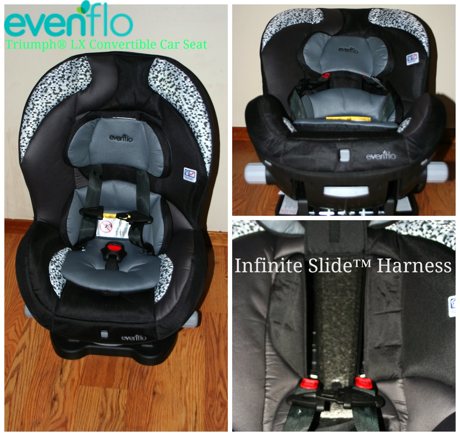 evenflo triumph lx convertible car seat review. Black Bedroom Furniture Sets. Home Design Ideas