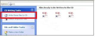 Cara Burn File di Windows XP Tanpa Software