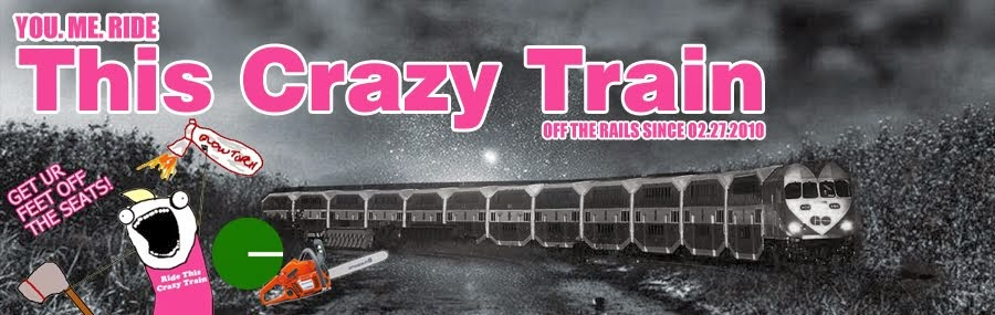 You. Me. Ride This Crazy Train - Adventures and Observations on The GO