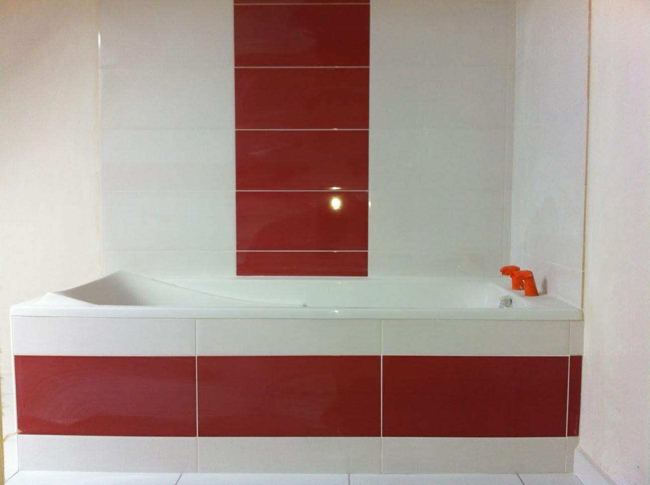 Notre future maison plougonvelin la salle de bain de l for Salle de bain du futur