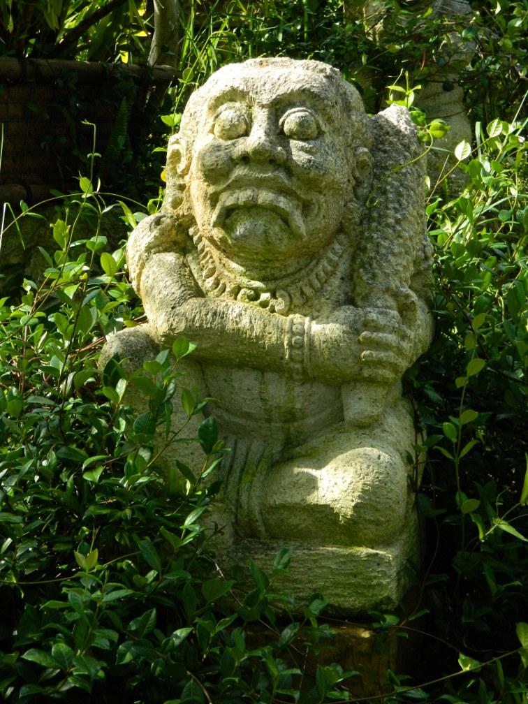 Candi Suka Ruin detail Lea Asian Garden Naples Botanical Garden  garden muses-a Toronto gardening blog