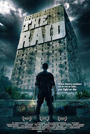 The Raid; Sinopsis dan Vide Trailer Serbuan Maut