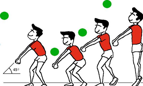 golpe voleibol: