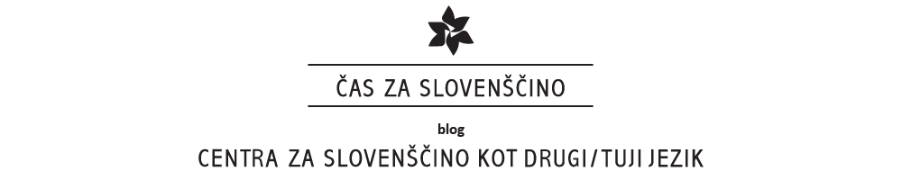 Čas za slovenščino