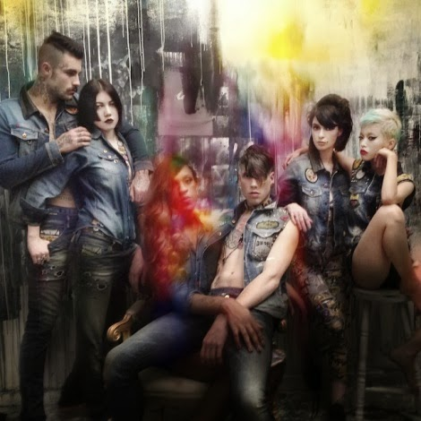 Diesel Tribute Campaign Images by Nick Knight on iPhone