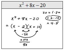 Factoring Trinomials Problems
