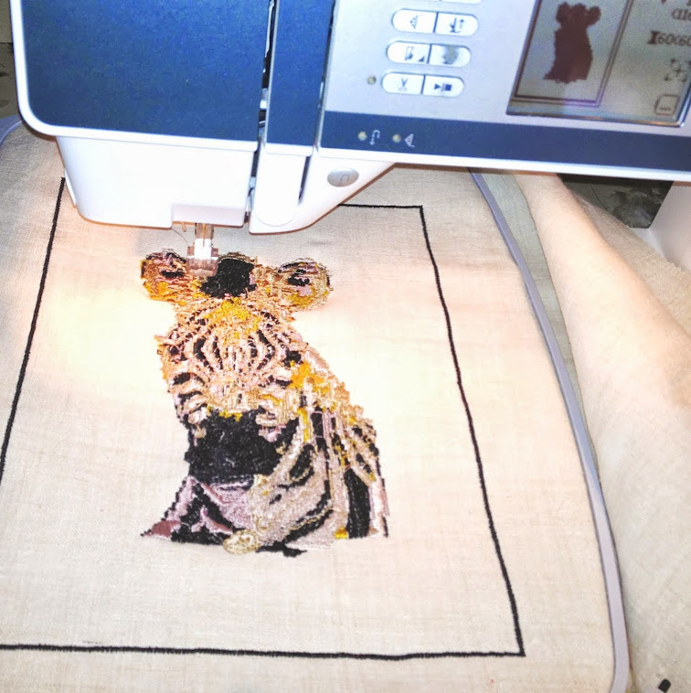 Creatively Produced Machine Embroidery by LMD