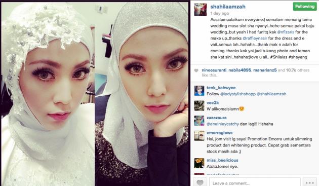 8 foto pernikahan Shila Amzah secara senyap-senyap?, info, terkini, hiburan, sensasi, gossip, Shila Amzah