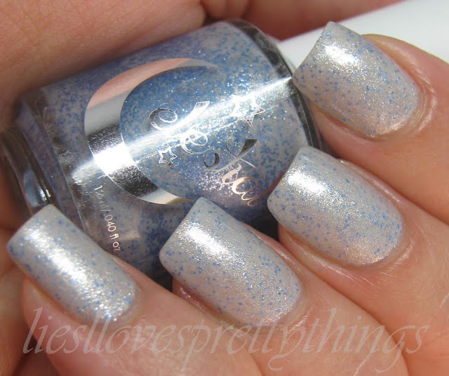 Celestial Cosmetics Mercury Rising swatch and review