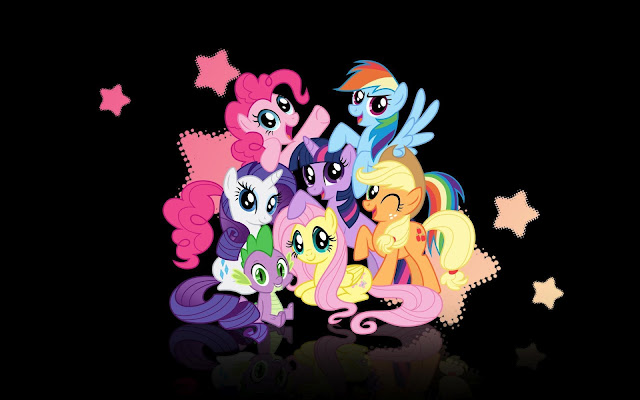 My Little Pony  Rainbow Dash  Rarity  Twilight Sparkle  Pinky Pie