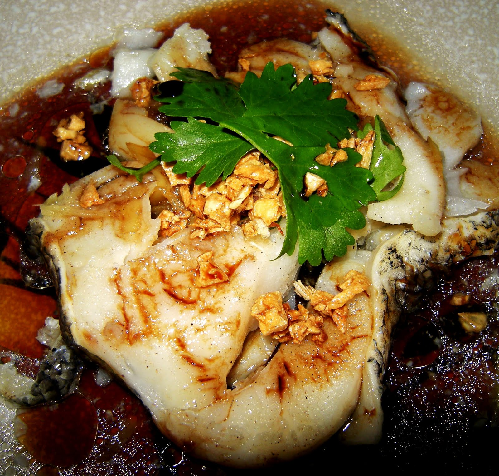 of mice and ramen steamed cod chinese style