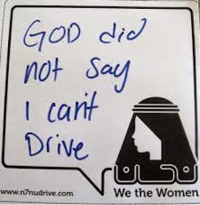 A primavera das Arábias? - No Woman No Drive