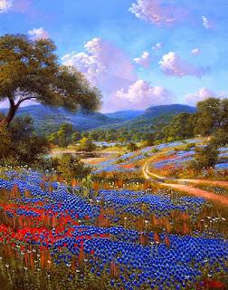 Cuadros Modernos Campos Flores