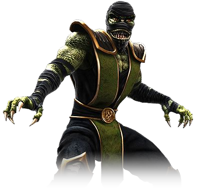 reptile sub zero and scorpion. mortal kombat 9 scorpion