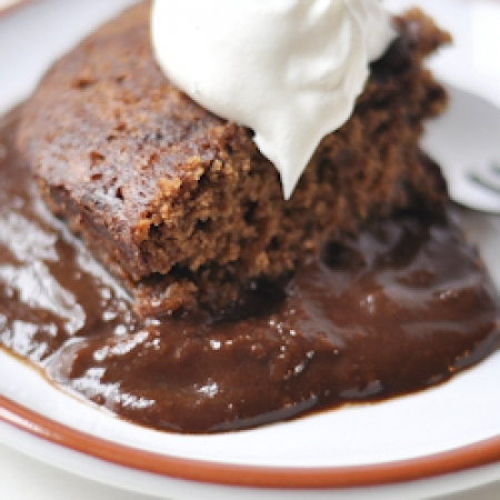 OUR FAMILY RECIPES: MICROWAVE CHOCOLATE PUDDING CAKE