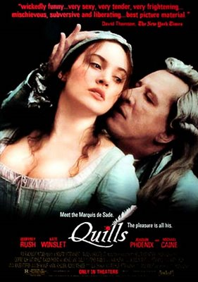 Quills () Movie Watch Online Free. Starring - Geoffrey Rush, Kate Winslet, Joaquin Phoenix, Michael Caine Director - Philip Kaufman Genre - Drama, History, Romance Movie Info -.