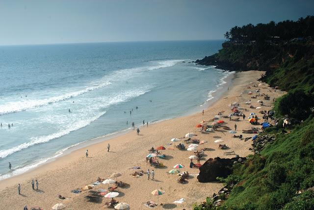 varkala_beach_overlooked_Kerala