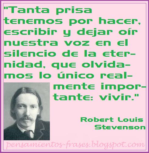 frases de Robert Louis Stevenson