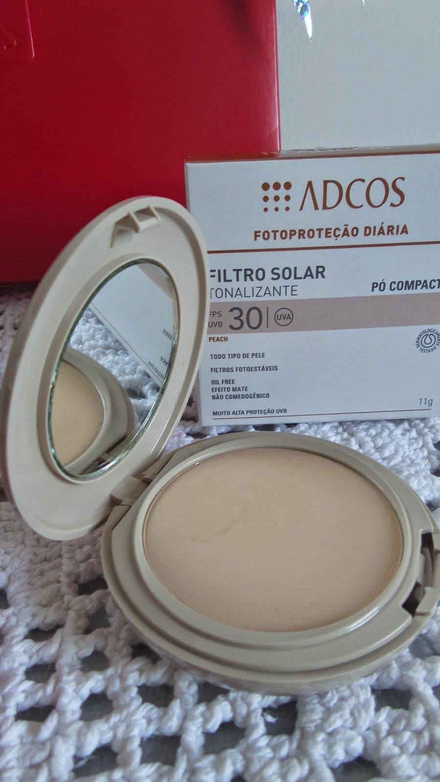 Protetor Solar em Pó Adcos  FPS 30