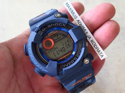 CASIO G-SHOCK FROGMAN GF-8250CM-2JR BLUE CAMOUFLAGE - TOUGH SOLAR - BRAND NEW