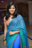 actress anjali hot saree photos at masala telugu movie audio launch+(48) Anjali Saree Photos at Masala Audio Launch