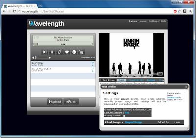Buat Musik Room  Sendiri dan Menonton Video di Wavelength.fm