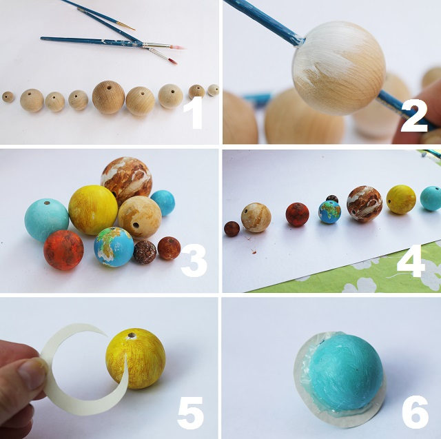 Now That S Pretty Diy Planet Necklace