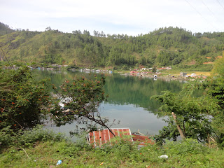 Panorama Danau Laut Tawar