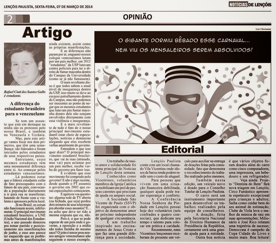 Artigo primeiro