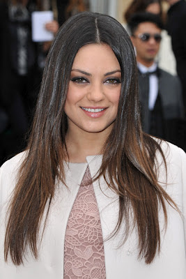 Mila Kunis 2012 Hairstyle