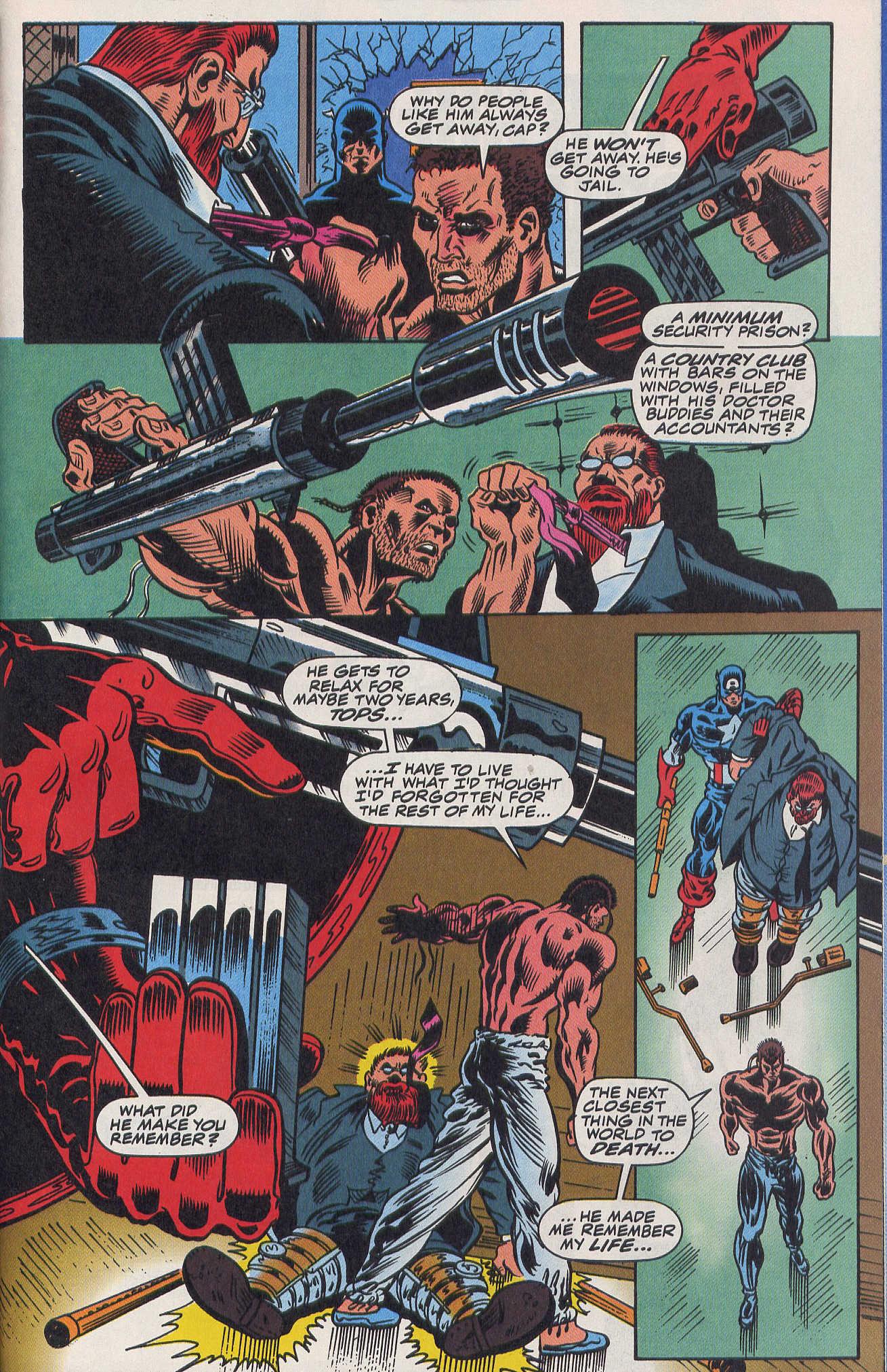 Captain America (1968) Issue #420b #370 - English 20