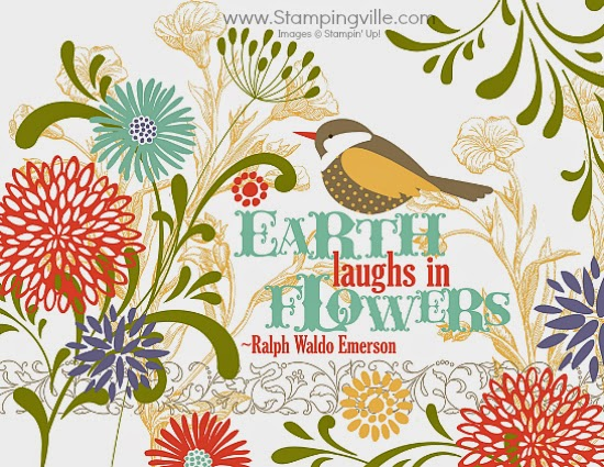 Earth laughs in flowers. -Ralph Waldo Emerson