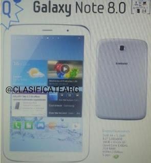 Galaxy Note 8.0 Punya 3 Varian