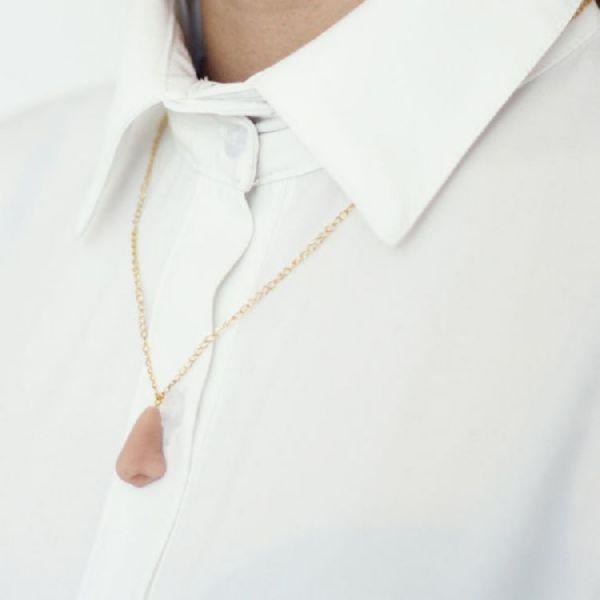 funny tiny lifelike human body parts jewelry